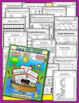 June NO PREP - Math & Literacy (Pre-K)