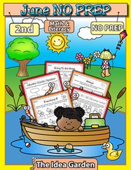 June NO PREP - Math & Literacy (Second)