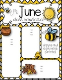 June Newsletters freebie