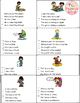 June Picture Comprehension Cards and Worksheets