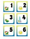 June Pocket Calendar Cards