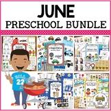 June Preschool Activities Bundle