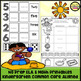 Kindergarten No Prep Phonics, Literacy & Math Work for June