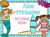 June Printables: Summer