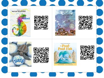 June QR Code Read Alouds