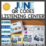 June QR Codes Listening Center