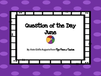June Question of the Day Prompts