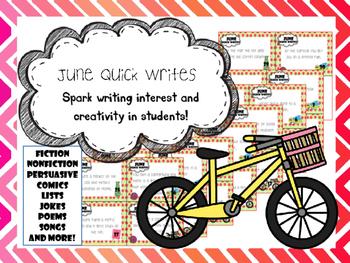 June Quick Writes