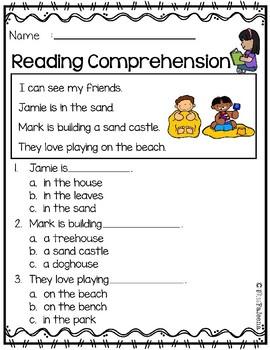 June Reading Comprehension