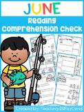 June Reading Comprehension Check