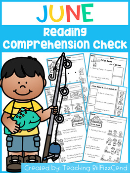 June Reading Comprehension Check