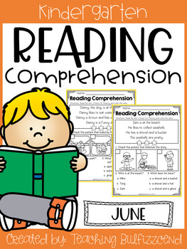 June Reading Comprehension Read and Match