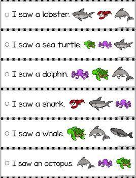 June Reading Fluency and Comprehension Sentence Strip