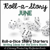 {June} Roll-a-Story Writing Activity