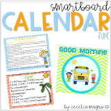June SMARTBoard Calendar Morning Meeting
