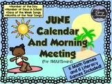 June SMARTboard Calendar and Games