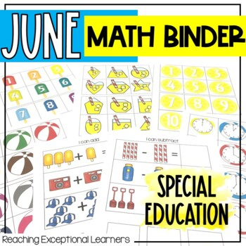 June SPED Math Adapted Workbook
