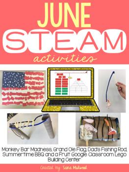 June STEAM Activities