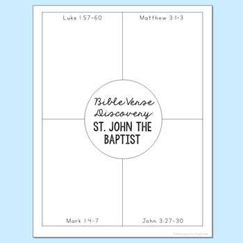 June Saints BUNDLE of Notebook Journal Projects, Catholic Resources