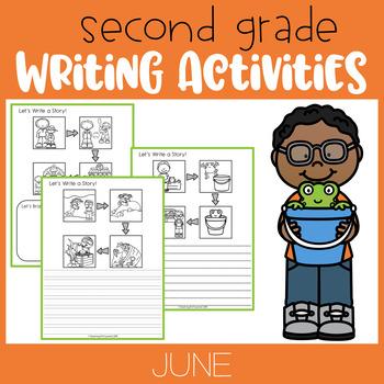 June Second Grade Writing Activities