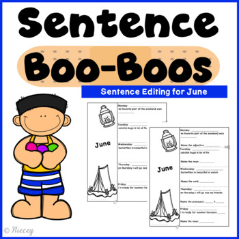June Sentence Boo-Boos