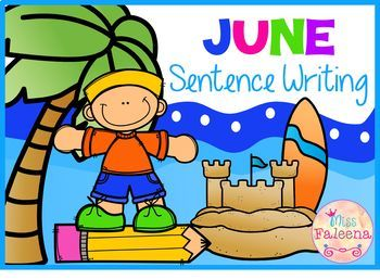 June Sentence Writing