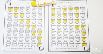 June Sight Word Mazes