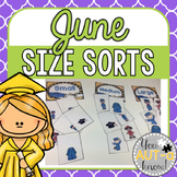 June Size Sorts - CCSS Aligned for Kindergarten