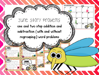 June Story Problems