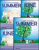 June - Summer Homework or Class Activities - Kindergarten & First [Common Core]