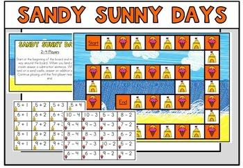 June Summer Math Centers Kindergarten
