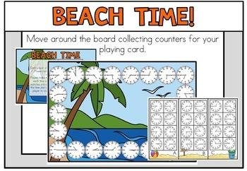 June Summer Math Centers Second Grade