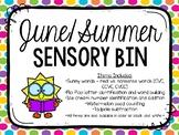 June/Summer Sensory Bins