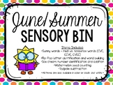 June/Summer Sensory Bins