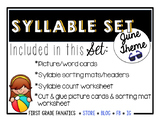 June Syllable Set