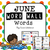 June Thematic Word Wall Words {48 Words for Flag Day, Father's Day, & More}