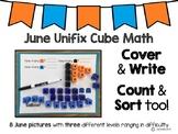 June Unifix Cube Math
