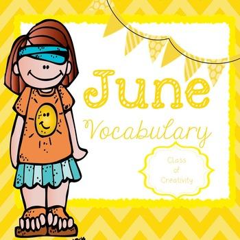 June Vocabulary Words