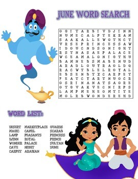 Word Search (June)