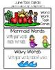 June Word Work Choice Board