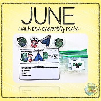 June Work Box Assembly Tasks