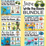 June Write the Room Bundle - Summer, Summer Activities, Fair, Circus, Ocean
