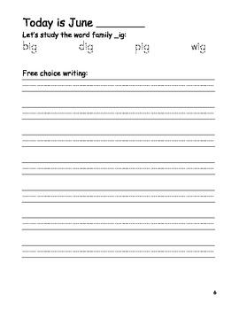 June Writing