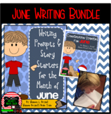 June Writing Bundle (Conversation Starters, Morning Meetin