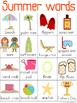 June Writing Center Tools: Summer Words