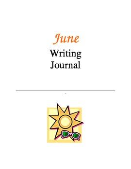 Writing Journal, June