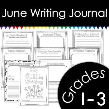 June Writing Journal with Prompts