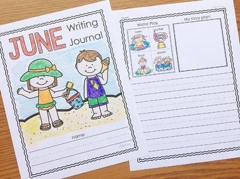 June Writing Journals