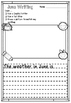 June Writing Pack for Early Years and Lower Elementary