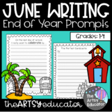 June Writing Prompts! -- [1st, 2nd, 3rd, 4th grade]